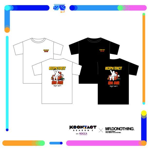 KCON:TACT season 2 x Mr.Donothing T-Shirt